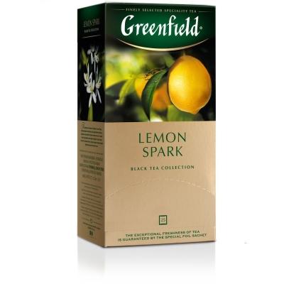 Чай Гринфилд Лемон Спарк 25 пак.