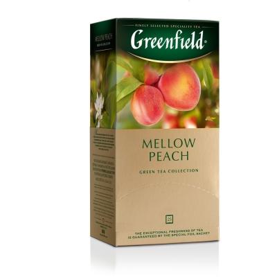 Чай Гринфилд Мэллоу Пич 25 пак.