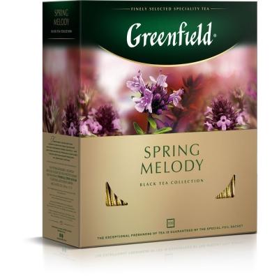 Чай Гринфилд Спринг Мелоди 100 пак.