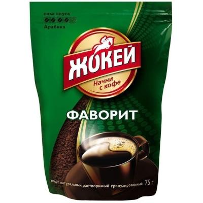 Кофе Жокей Фаворит растворимый м/у