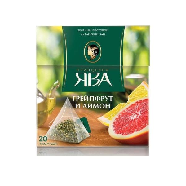 Чай Принцесса Ява Грейпфрут и Лимон 20 с/яр.