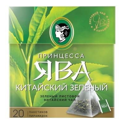 Чай Принцесса Ява Китайский зеленый 20 пир.