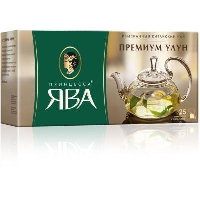 Чай Принцесса Ява Премиум Улун 25 пак. с/яр.