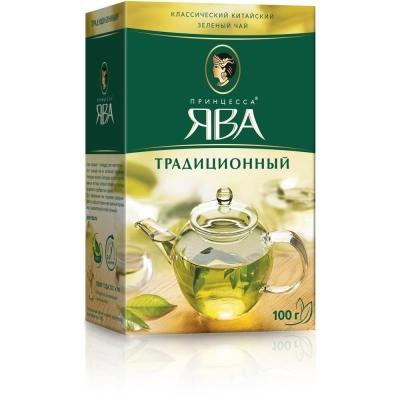Чай Принцесса Ява эконом зеленый традиционный