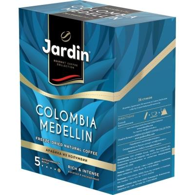 Кофе Жардин растворимый Колумбия Меделлин 26 пак.
