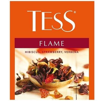 Чай Tess Флэйм herbal 100 пак.
