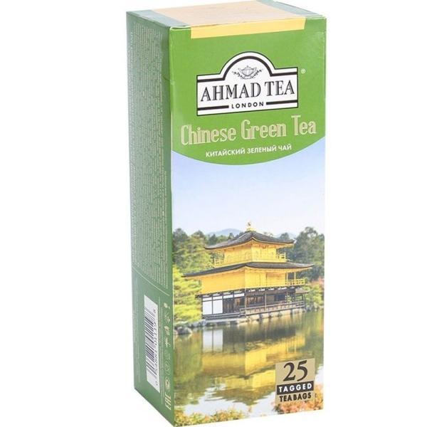 Чай Ахмад Китайский зеленый 25 пак. с яр.