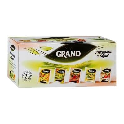 Чай Гранд Наслаждение природой Ассорти 25 пак.