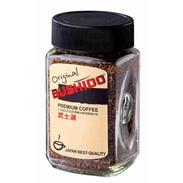 Кофе Bushido Original в кристаллах ст/б