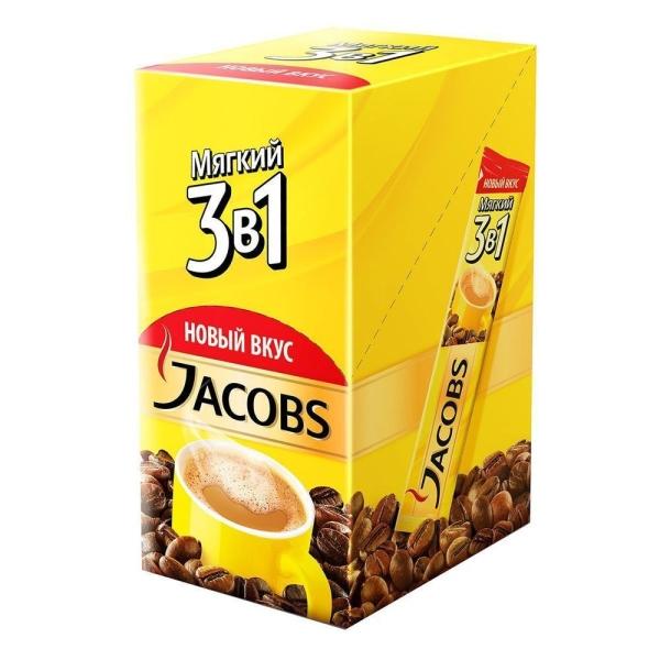 Кофе Якобс Монарх 3 в 1 мягкий