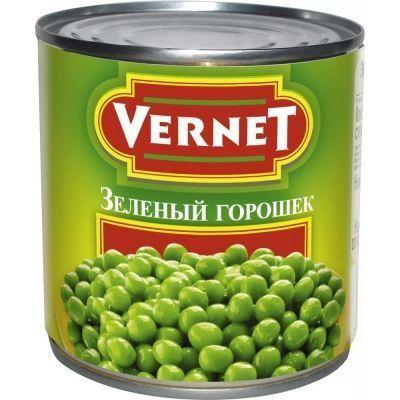Горошек зеленый Вернет