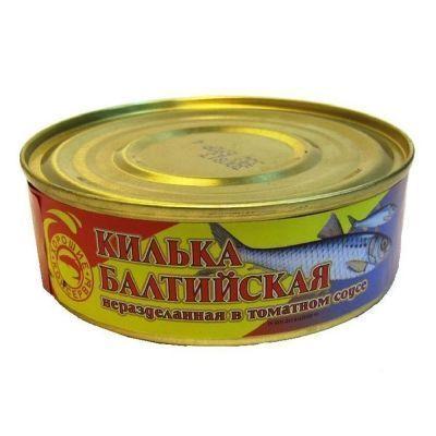 Килька Балтийская в томатном соусе ТУ