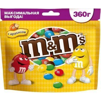 Драже М&М's с Арахисом
