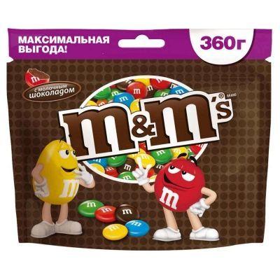 Драже М&М's Шоколадный