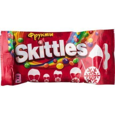 Конфеты жевательные Skittles в глазури Фрукты