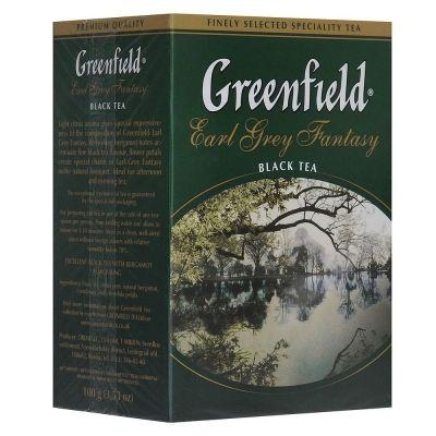 Чай Гринфилд Earl grey fantasy black