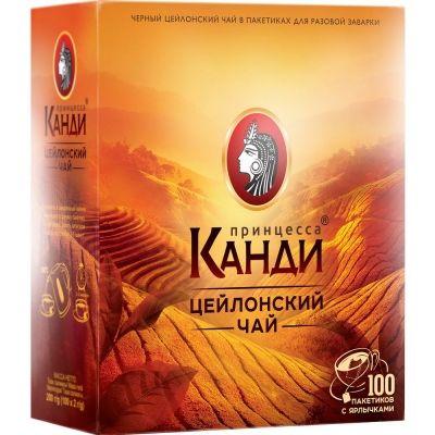 Чай Канди Цейлон 100 пак.