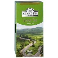 Чай Ahmad Tea Зеленый 25 пак. с/я в к/фольги