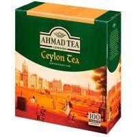 Чай Ahmad Tea Цейлон 100 пак. с/я