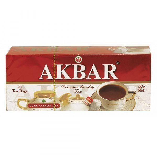 Чай Акбар Limited Edition Цейлонский мелкий 25 пак.