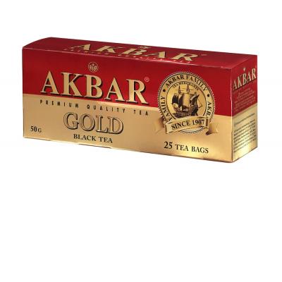 Чай Акбар Голд 25 пак с/я
