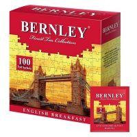 Чай Bernley английский завтрак 100 пак. с/я