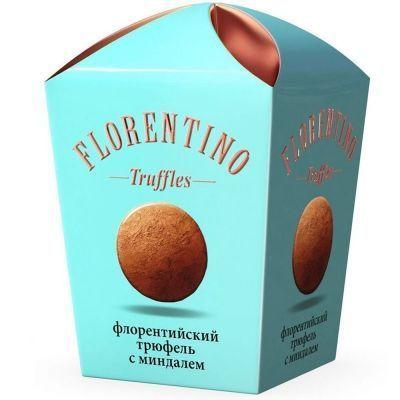 Конфеты Florentino Флорентийский трюфель с миндалем картон