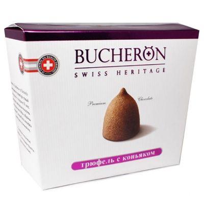 Конфеты шоколадные Bucheron Трюфель с коньяком