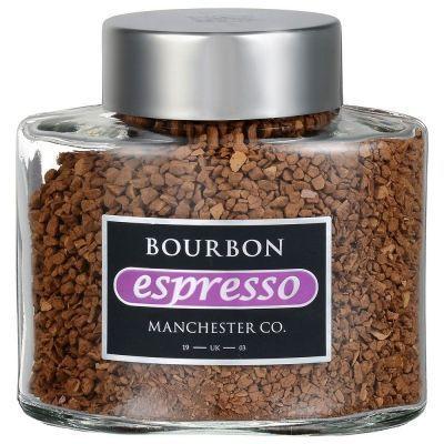 Кофе Bourbon Espresso сублимированный жареный с молотым ст/б