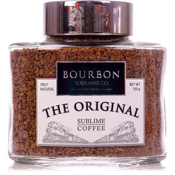 Кофе Bourbon The Original растворимый сублимированный ст/б