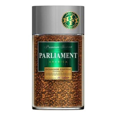 Кофе Parlament Arabica растворимый сублимированный ст/б
