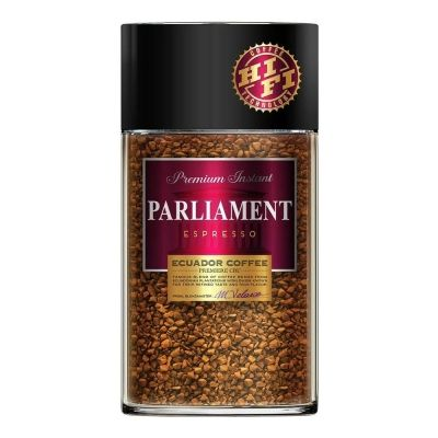 Кофе Parlament Espresso растворимый сублимированный ст/б