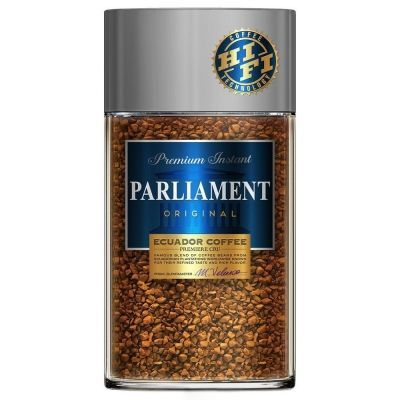 Кофе Parlament Original растворимый сублимированный ст/б