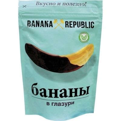 Фрукты сушеные Banana Republic Банан дой-пак
