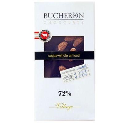 Шоколад Bucheron горький с миндалем картон