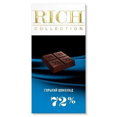 Шоколад Rich горький картон