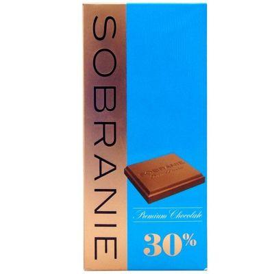 Шоколад Sobranie молочный картон
