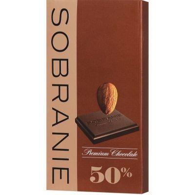 Шоколад Sobranie темный с орехами картон