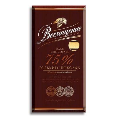 Шоколад Волшебница Восхищение Темный 75% какао
