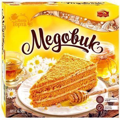 Торт Черёмушки Медовик