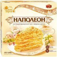 Торт Черёмушки Наполеон