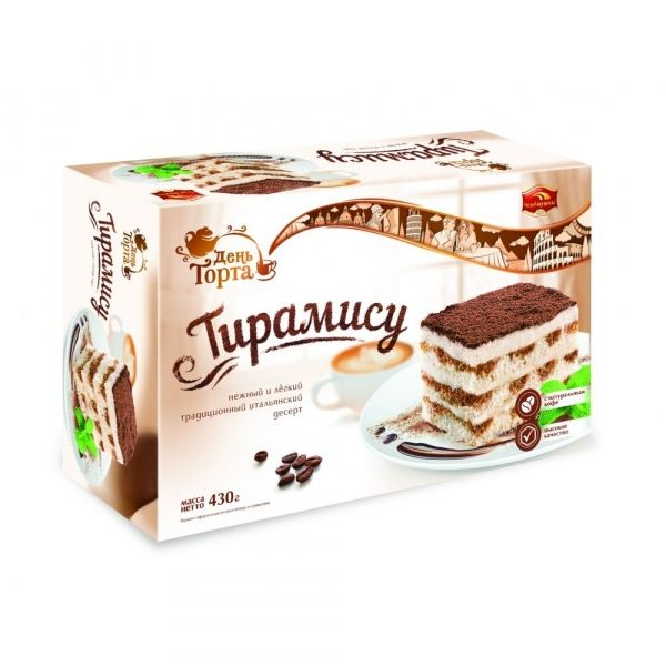 Торт Черёмушки Тирамису (чер)