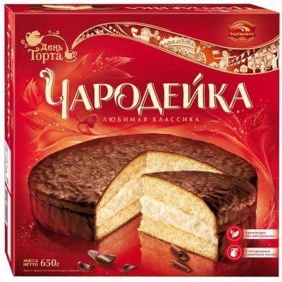 Торт Черёмушки Чародейка