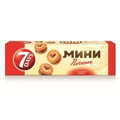 Печенье сдобное 7DAYS Крем-Какао