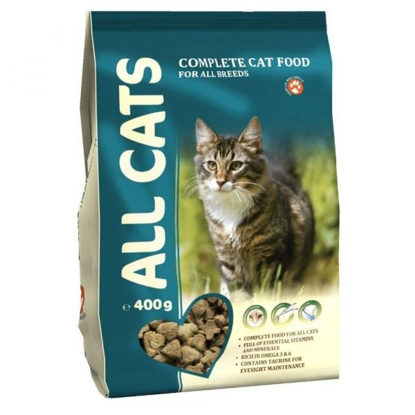 Корм сухой для взрослых кошек ALL CATS пп.