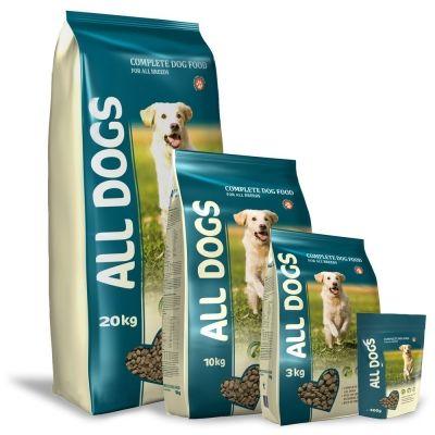 Корм для взрослых собак ALL DOGS пп.