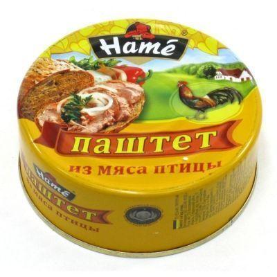 Паштет Hame Из мяса птицы ж/б