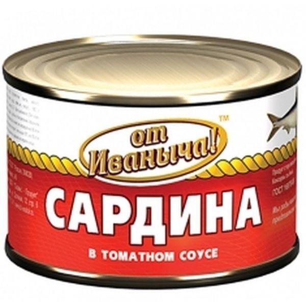 Сардины От Иваныча в томатном соусе №6