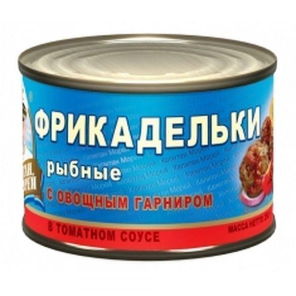 Фрикадельки Капитан Морей в томатном соусе №6