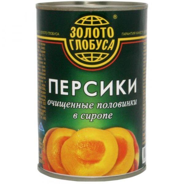 Персики Золотой Глобус